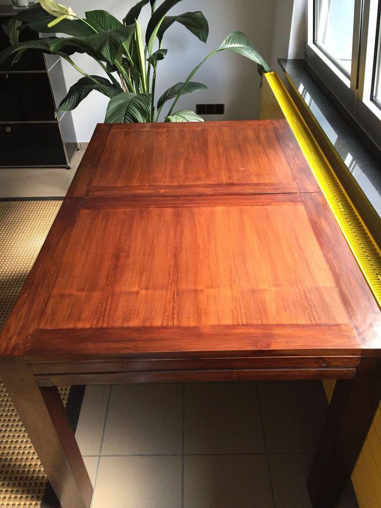 Esstisch, Holz, ausziehbar 90 x 140 (180)x 78 cm
