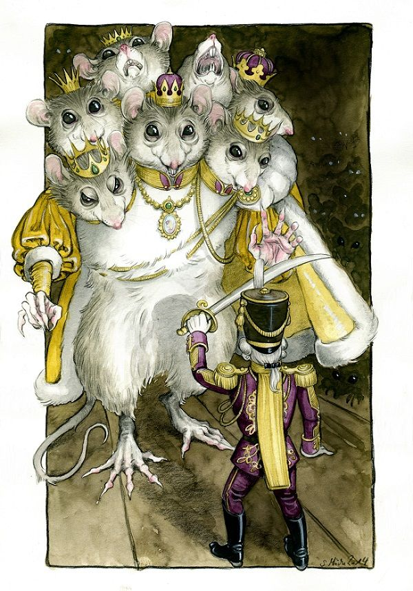 Nutcracker and Mouseking by cidaq.deviantart.com on @DeviantArt