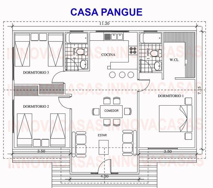 Casas prefabricadas buscar con google casas prefabricadas casas prefabricadas casas y - Planos casas modulares ...