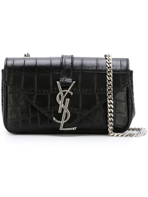 b961da8a232 Shop Saint Laurent baby  Classic Monogram  shoulder bag in Vitkac from the  world s best independent boutiques at farfetch.com. Shop 300 boutiques at  one ...