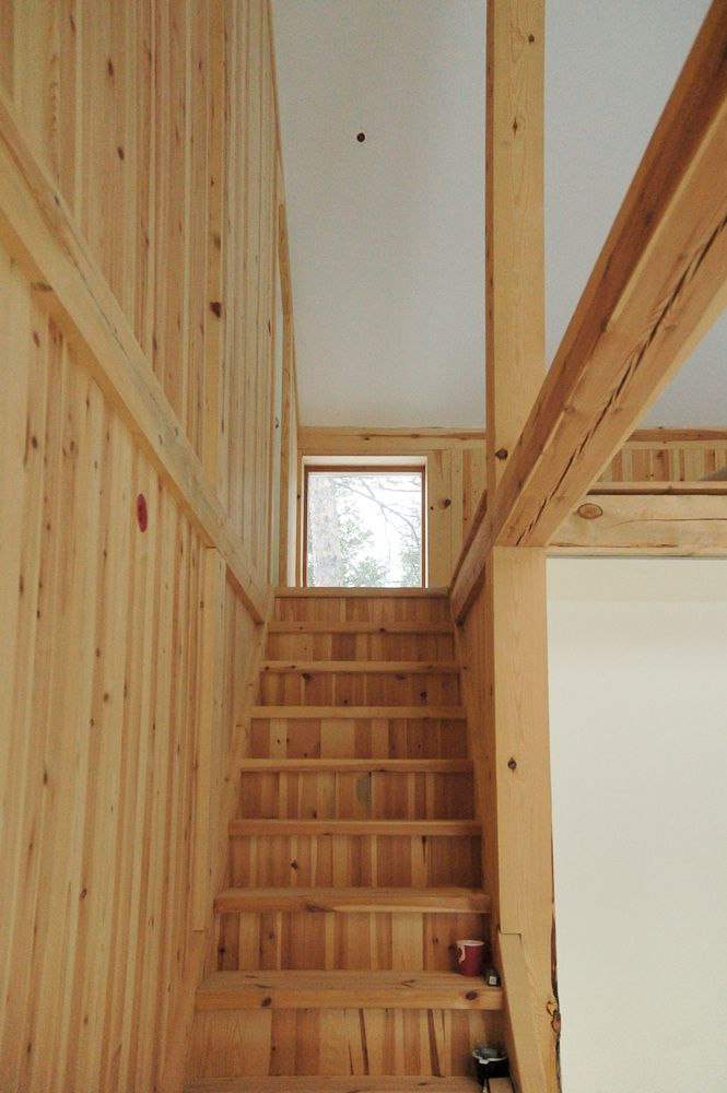 Gunnar\u0027s House, a small timber frame forest home in Norway It has 2