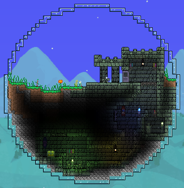 how to find jungle temple terraria