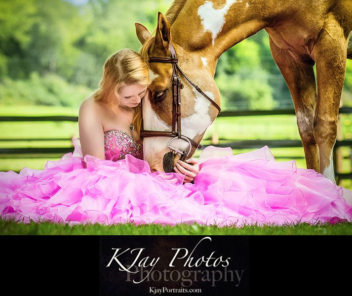 Pretty Horse Prom Dress Senior PIctures, K Jay Photos Photography ...