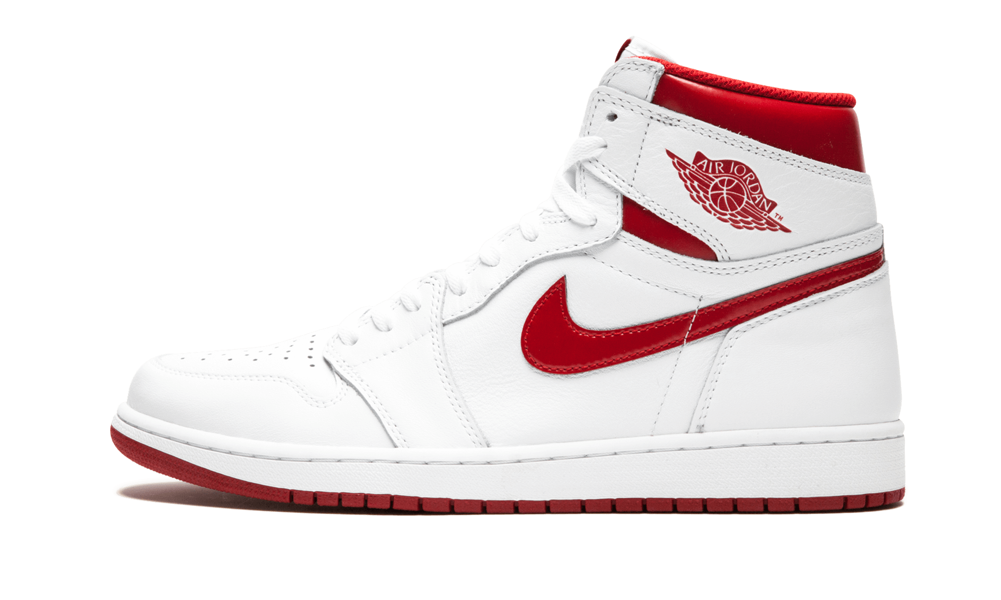 "Air Jordan 1 Retro High OG ""Metallic Red"" 555088 103"