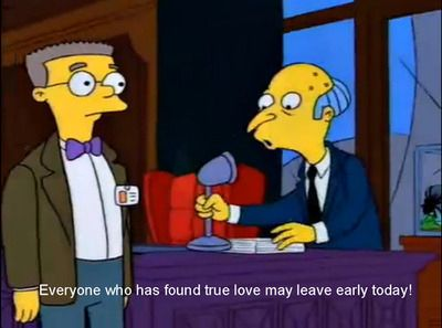If You Are In Love Celebrate It The Simpsons Simpsons Cartoon Teaching
