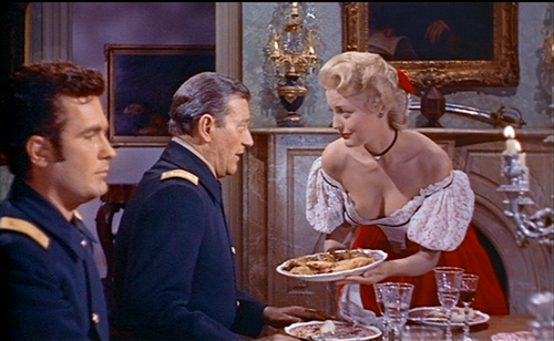 The still from the movie with John Wayne, where Constance Towers ...