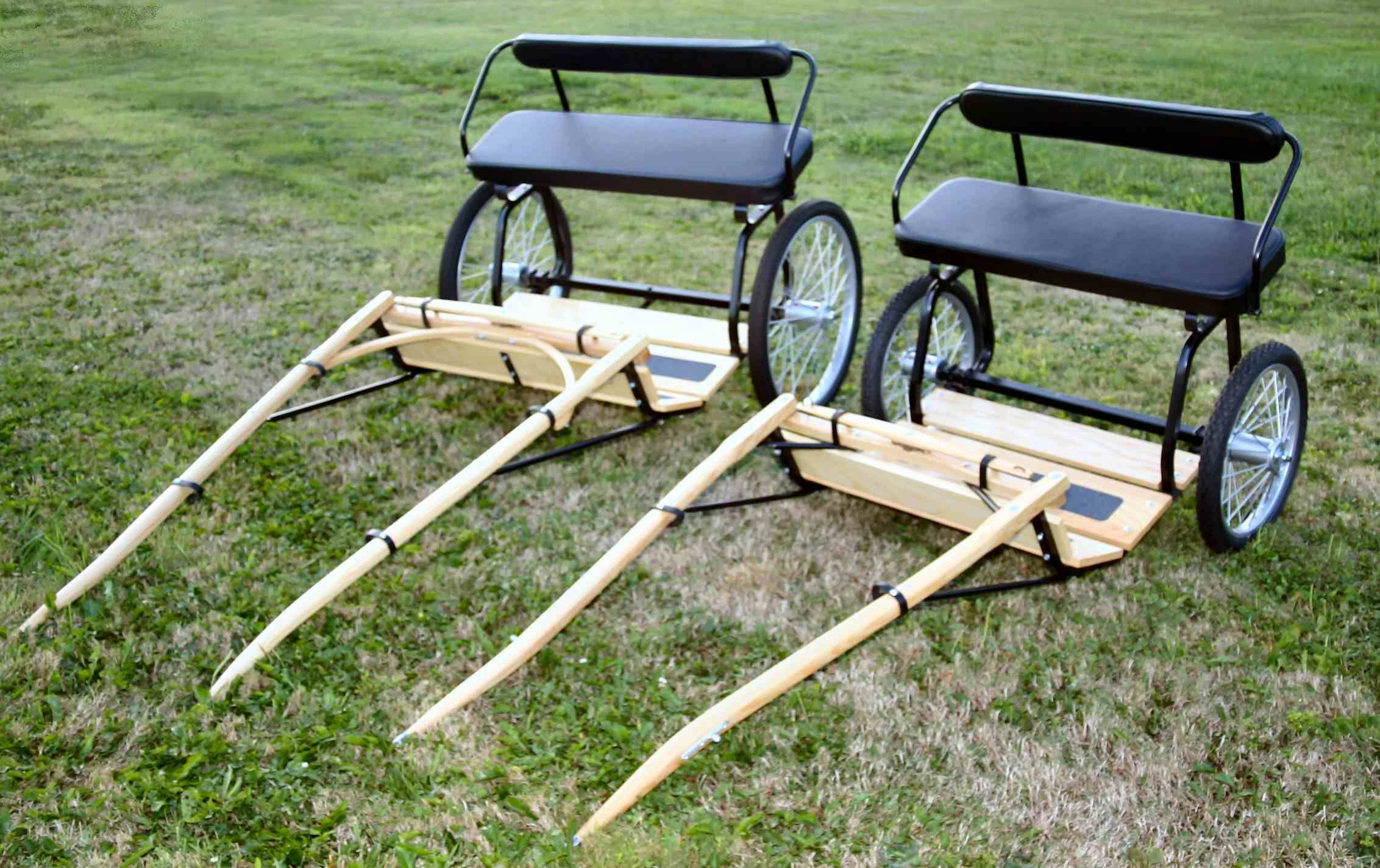 Miniature horses miniature horse show carts and pleasure for Easy entry cart plans