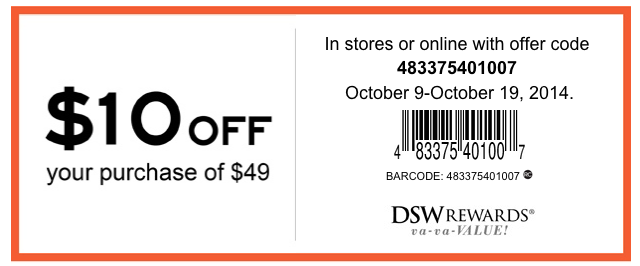 Dsw Printable Coupons And Coupon Codes February And March 2016 Cha Ching Queen Printable Coupons Coding Dsw