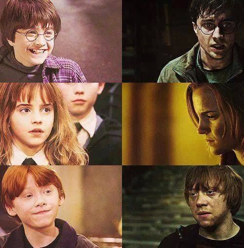 Гарри и рон картинки приколы