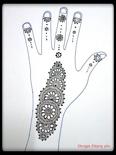 Step By Step Instructions For This Gorgeous Henna Strip 3 Love It