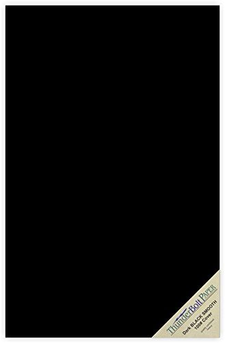 50 Dark Black Smooth Card Sheets 100 100 Lbpound 11 X 17 11x17 Inches Tabloidledgerbooklet Size Cover Weight Fi Candles Online Cool Things To Buy Fine Paper