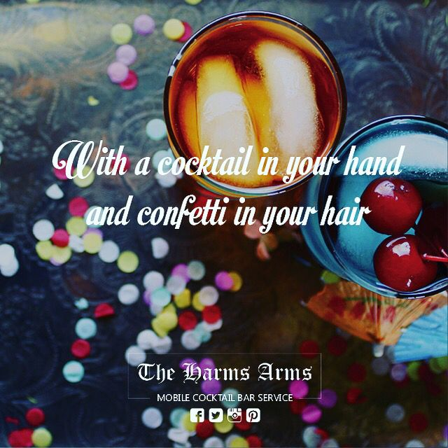Hope you all had a fabulous weekend! #theharmsarms #bookingsforalloccasions #mobilecocktailbar #cocktails #younameitwemakeit #mixologists #happymonday #ledbar