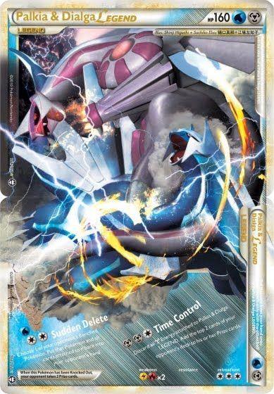 Legend Pokemon Cards | Pokemon Card of the Day: Palkia & Dialga ...