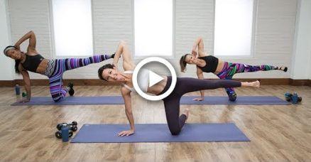 45-Minute Cardio Pilates Total Body Workout #cardiopilates 45-Minute Cardio Pilates Total Body Worko...