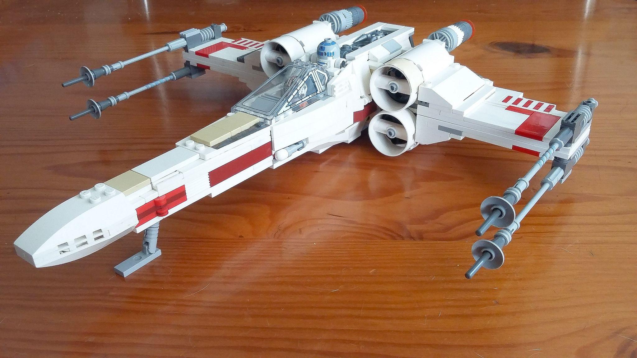 lego incom t65 xwing starfighter 9493 mod lego x