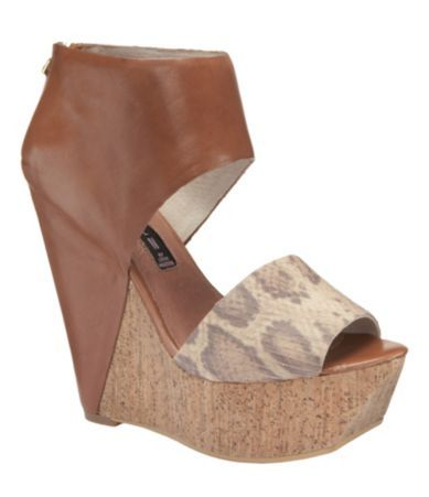 Sexy wedge sandal by Steve Madden!  Brilliant!