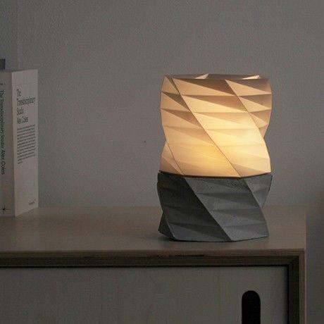 3d Druck Lampe Grau Von Dreiding Monoqi 3d Druck 3d Drucker Lampen