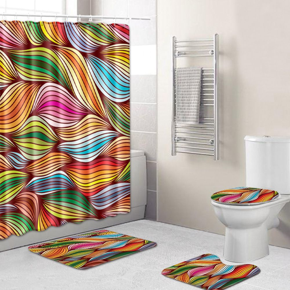 Buy A Shower Curtain Christmas Tree Decor 3d Print Shower