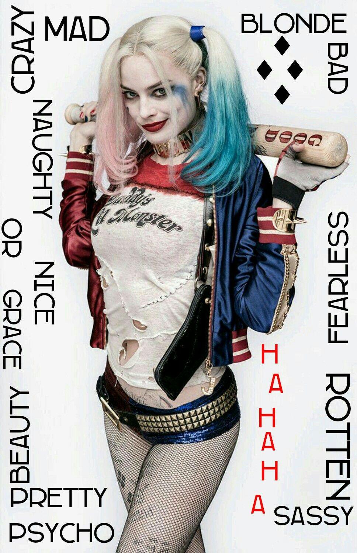Harley quinn on pinterest jokers margot robbie