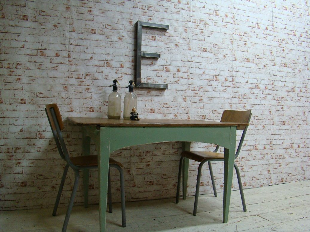 Grenen franse vintage tafel meubels pinterest for Retro tafel