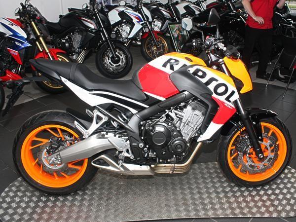 tuning moto cb650f
