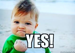 Admissionsmarts On Instagram When You Realize Tomorrow Is Friday Fist Pump Baby Fist Pump Success Meme