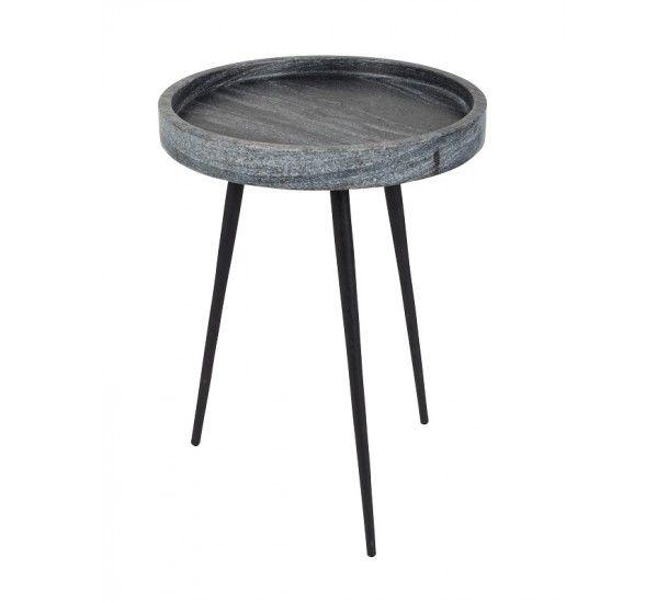 Zuiver Karrara Sidebord  - Sidebord i grå marmor