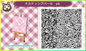 Pink Tile Acnl Qr Codes Acnl Qr Codes Qr Codes Animal Crossing