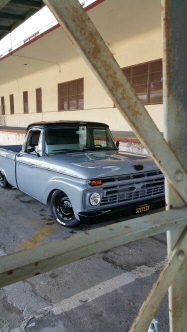 66 Ford F 100 Nice Paint On This Sharp Truck That You Can Still