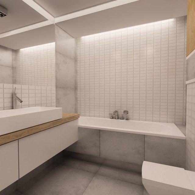 Home Cinema Design Szukaj W Google: łazienka Biała Betonowa Podłoga
