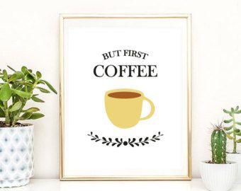 poster coffee – Etsy DE