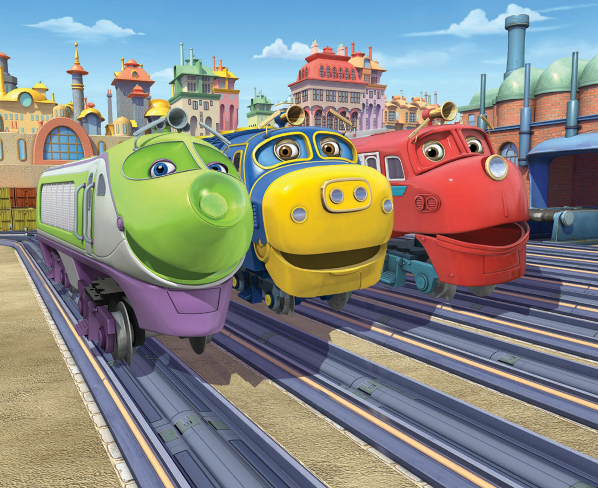 Chuggington | Productie-detail | AYK Disney, Puppy, Zoobles,Kikoriki ...