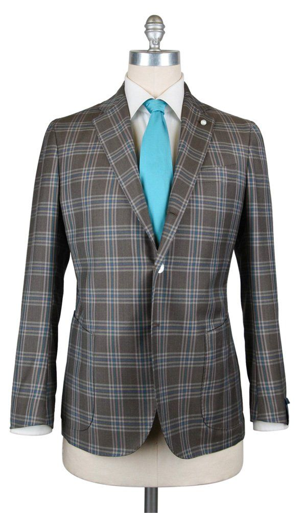 New Finamore Napoli Gray Suit 40/50 -- Awesome products selected by Anna Churchill