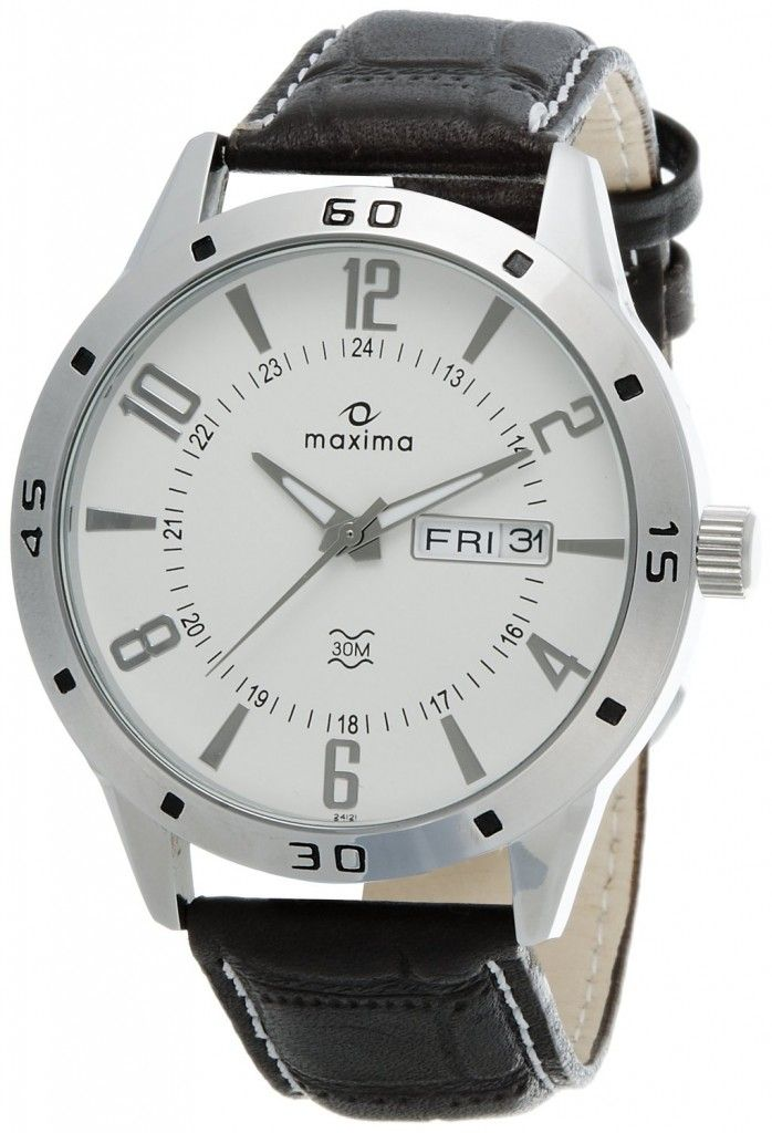watch white date mens attivo img product dial s maxima men watches zootster