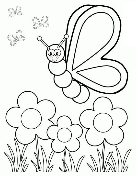 Top 35 Free Printable Spring Coloring Pages Online  Kids learning