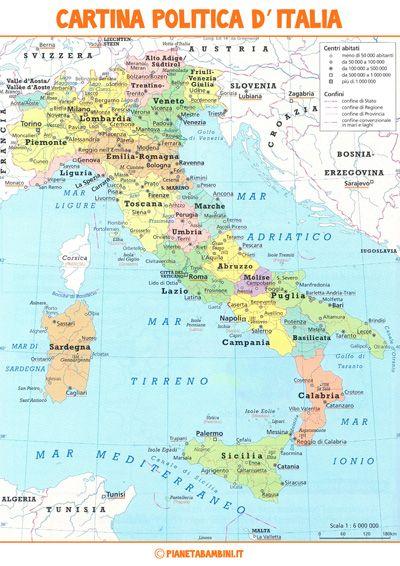 Cartina Fisica Muta Dell Africa.Cartina Muta Fisica E Politica Dell Italia Da Stampare