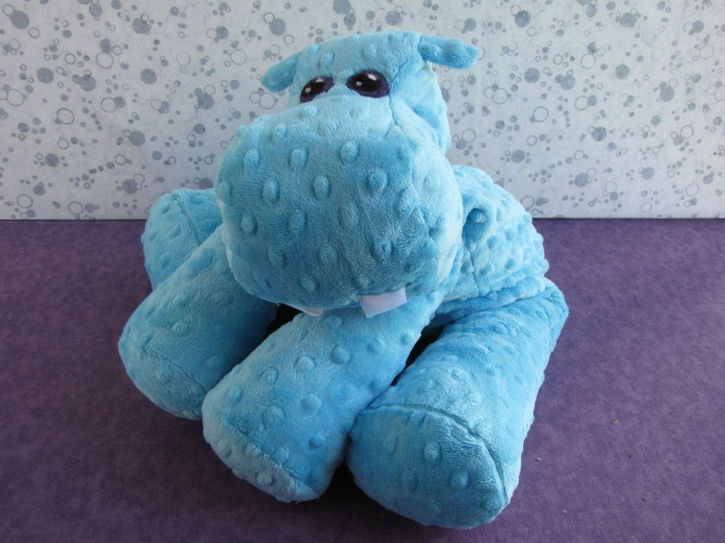 Hippo STUFFED ANIMAL Sewing Pattern. $9.00, via Etsy. | Coisas da ...