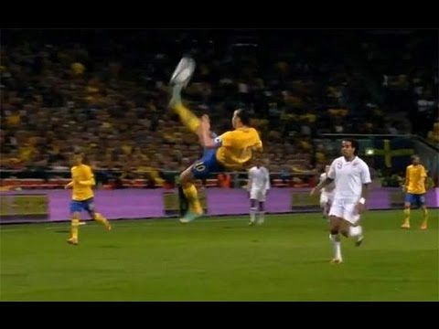 Best Soccer Goal Ever Zlatan Ibrahimovic Vs England Bicycle