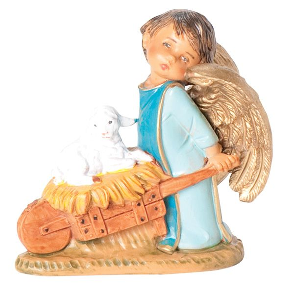 Bring the sweet Sela Angel with Wheelbarrow to your Fontanini Figures collection this year.