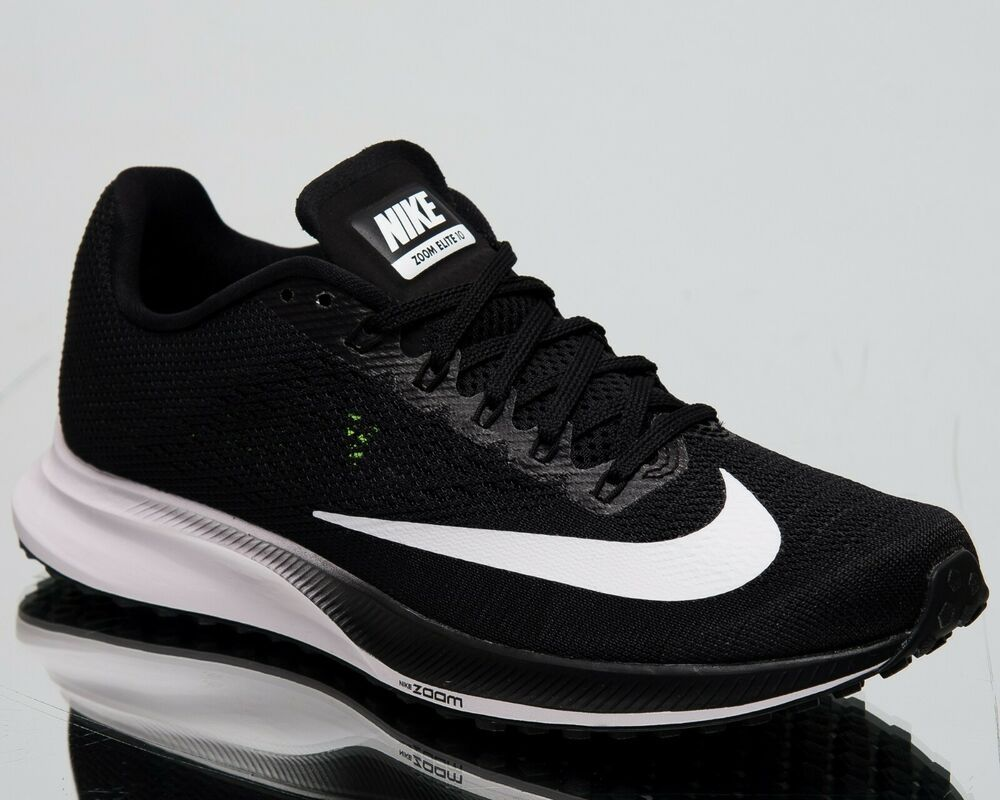 2f4a0407cce7b Nike Women's Air Zoom Elite 10 New Running Shoes Black White Volt ...