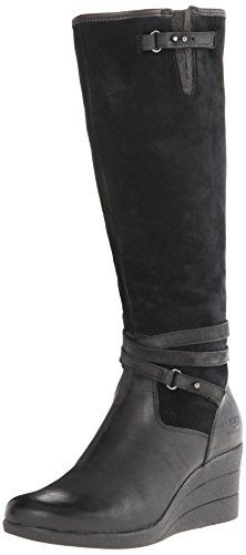 Amazon.com | UGG Women's Lesley, Black, US 6.5 M | Knee-High