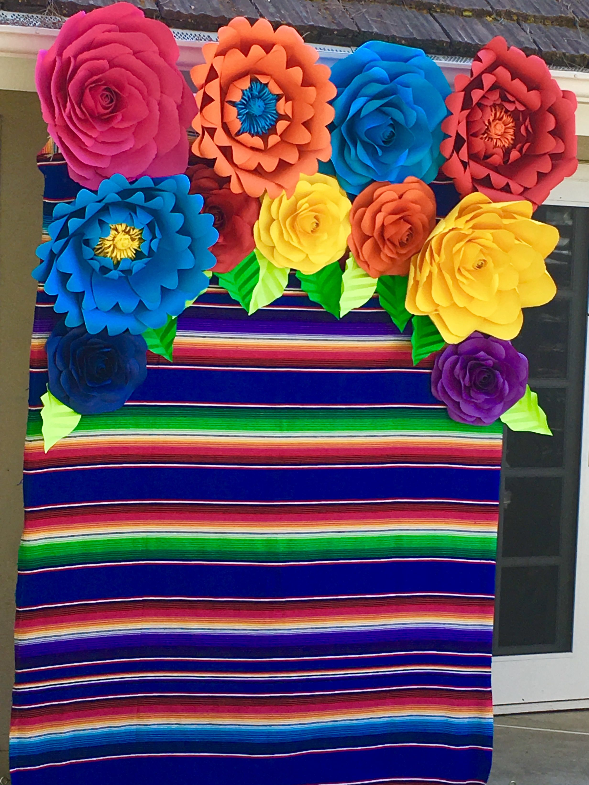 Instagram Craftsbybetty Mexican Fiesta Photo Opt Backdrop Paper