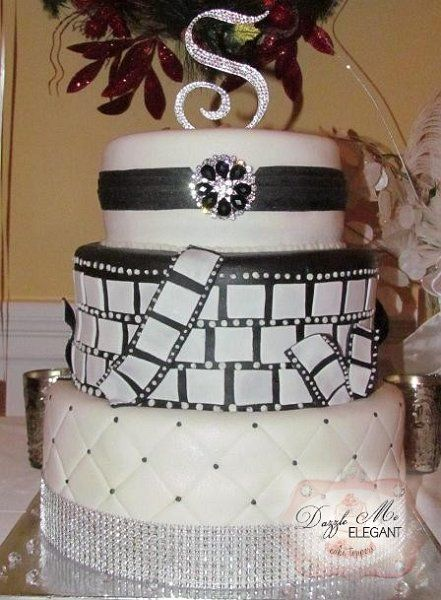 hollywood wedding cake great gatsby wedding cake style wedding 15273