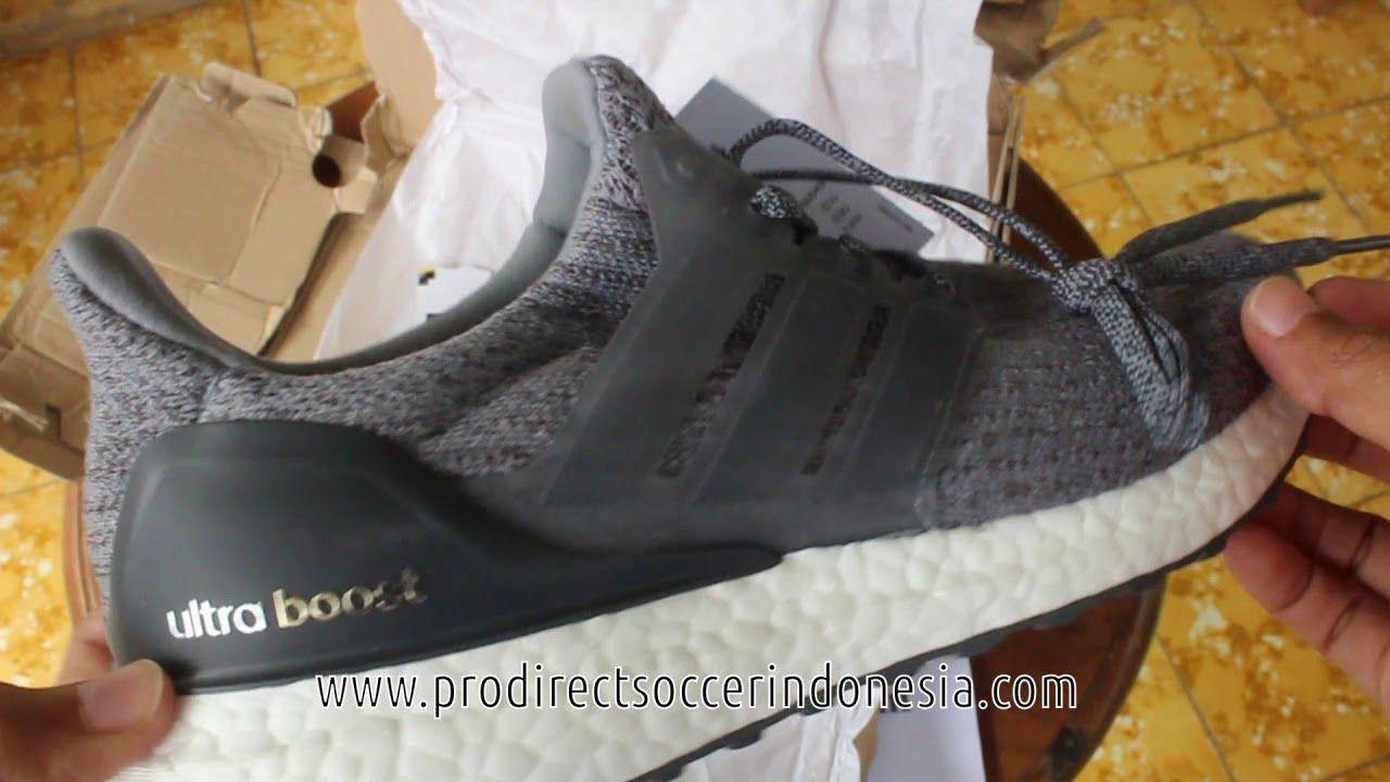 Sepatu Lari Adidas Ultraboost Mystery Grey Ba8849 Original Dengan