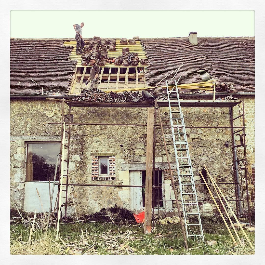 #travaux #renovation #toiture #chantier #onvittresbienavecunrein by vincentdewas