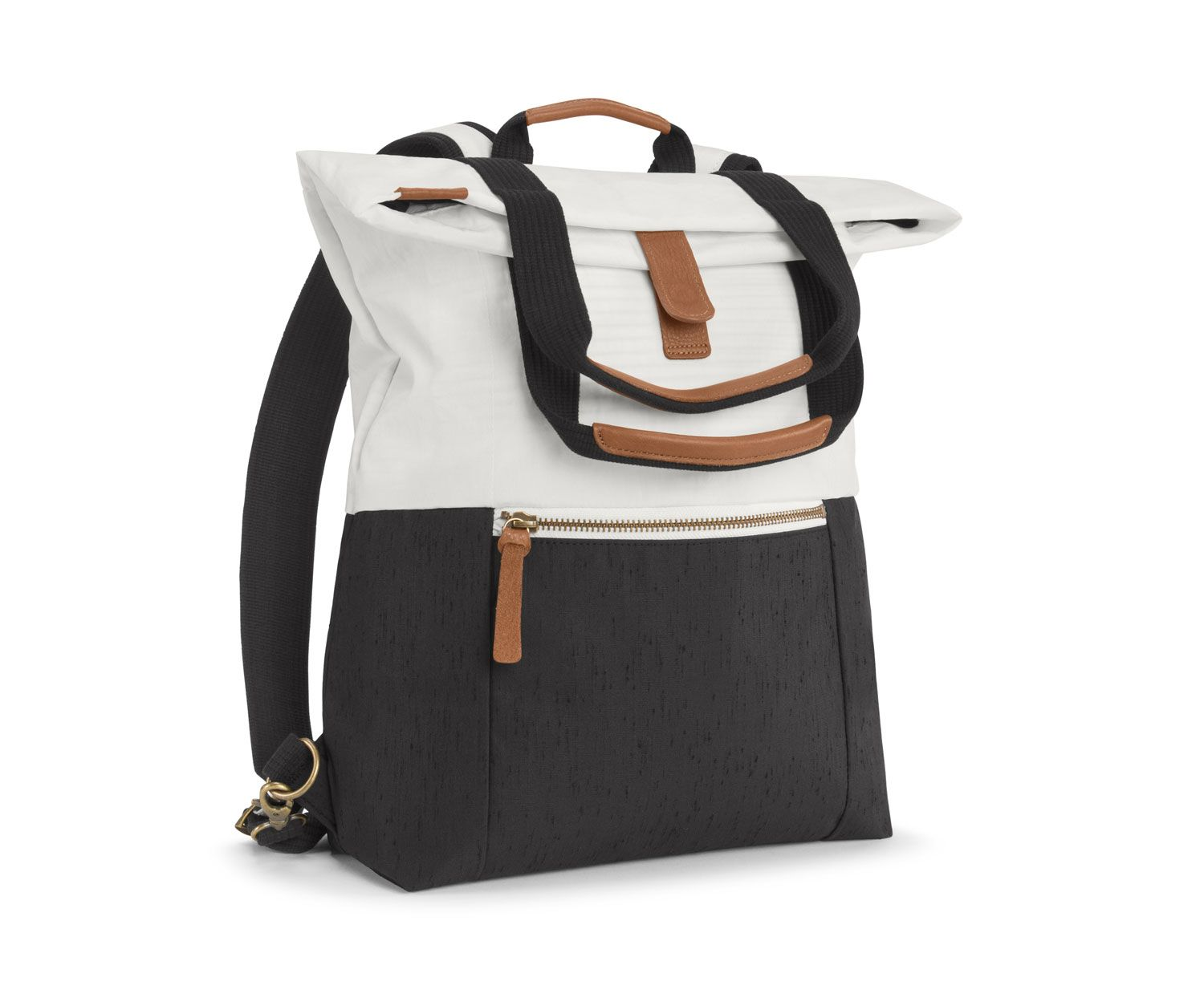 3-in-1 Leather Backpack Laptop Bag Convertible Backpack Minimalist ...