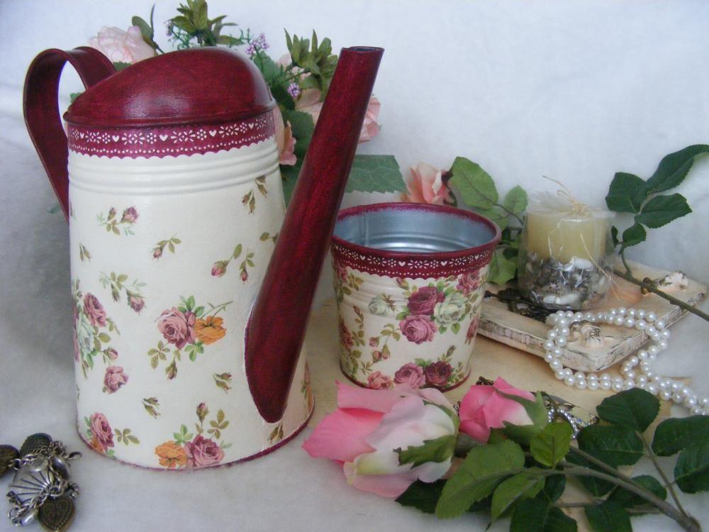 Nádoby - Ruža - kráľovná kvetov ... / kvetináč - 4020555_