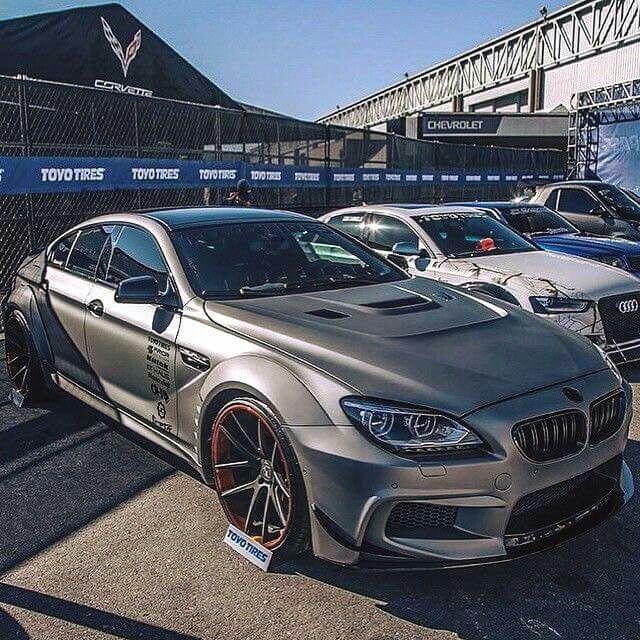 BMW F06 M6 Gran Coupe Grey Widebody