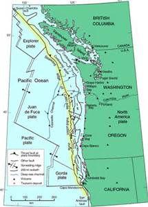 oregon fault lines map Oregon Earthquake Fault Lines Bing Images Earthquake oregon fault lines map