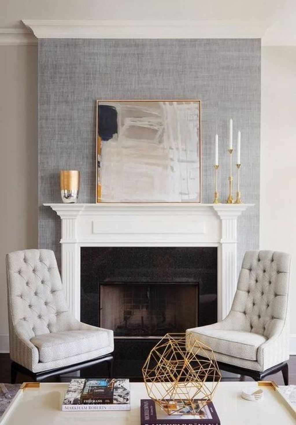 20 The Best Corner Fireplace Ideas For Your Living Room Accent Walls In Living Room Wallpaper Living Room Comfy Living Room